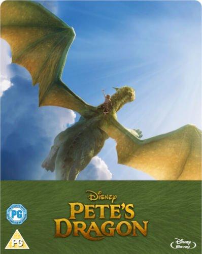 Elliot der Drache, Steelbook, Blu-ray ohne deutschen Ton, Pete's Dragon (2016) - Zavvi Exclusive Limited Edition Steelbook (UK Import ohne dt. Ton) Uncut, Regionfree