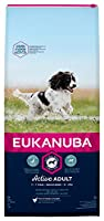 Tailored adult dog food with fresh chicken for medium breed dogs in a resealable bag Improved formula for the healthy digestion and optimal body condition of your dog A hexagon kibble shape which improves palatability Contains DentaDefense to reduce ...