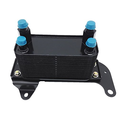 Transmission Torque Converter 68004317AA Oil Cooler Auto Heat Exchanger with Base for Dodge RAM 2500 3500 Diesel 5.9L 2003-2009 68253200AA
