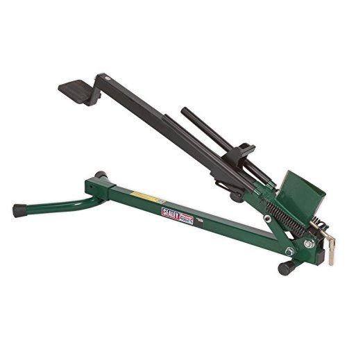 Sealey LS450H - Cutter orizzontale per legna da ardere, robusto, 1,2 T, in acciaio