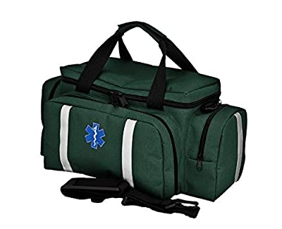 Medical Trauma First Aid Bag Unkitted (Green) by 4sports&travels