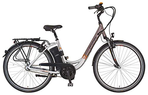 Prophete E-Bike Navigator Pro Damen Alu City Elektro Fahrrad 2X 36V/10,4Ah B Ware
