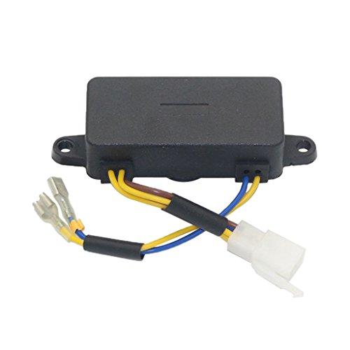FLAMEER Régulateur De Tension Automatique D'AVR pour 2kw 2.5kw 2.8kw 5.5/6.5HP