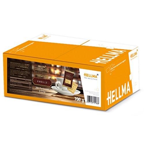 HELLMA 70102188 Edles Gebäck Vanille 200 Stück à 3,5 g