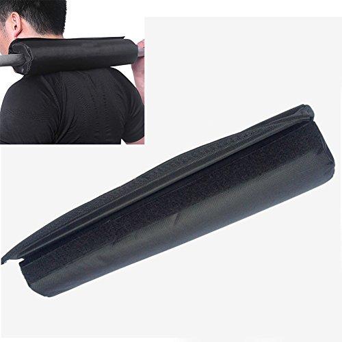 Langhantel-Nackenpolster, Gel-Stützen, für Langhanteln, Gewichtheben, Klimmzüge, Nacken- und Schulterschutz, für Kniebeugen, Ausfallschritte und Hüftstöße