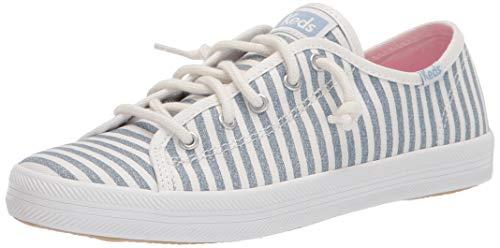 Keds womens Kickstart Seasonal Sneaker, Stripe, 10.5 Big Kid US