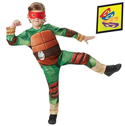 Rubie's IT610524-S - Tartarughe Ninja Deluxe Costume, Taglia S