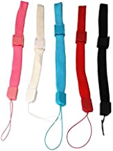 yueton 5pcs Universal Hand Wrist Strap Wristlet Wristband with Lock for Wii Remote Controller, Mobile Phone, MP3, Digital Camera
