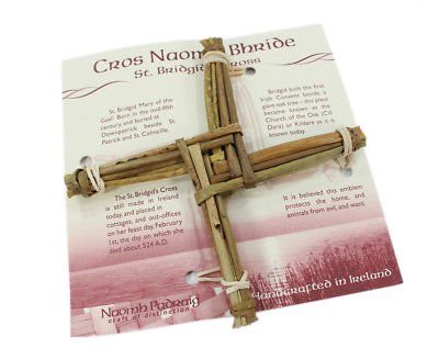 Biddy Murphy St. Brigid's Cross Hanging 6' x 6' x 3/4' Made in Ireland