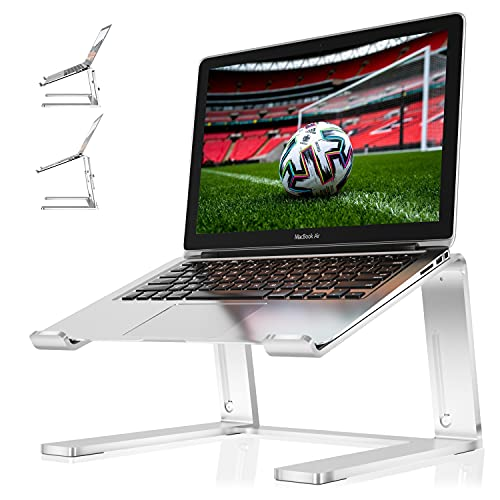 Newaner Soporte portatil Aluminio, Altura Regulable, Elevador Ordenador Compatible con Notebook(10-16pulgadas) Incluyendo...