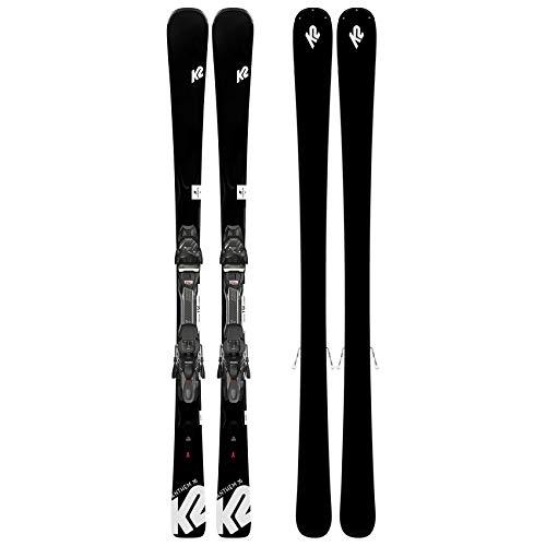 K2 Skis Damen Anthem 76 ERP 10 QUIKCLIK Black - Anthracite Set Ski Bindung, Design, 156