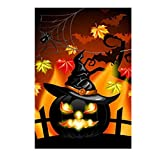 SUPVOX 5d diamond painting halloween of Evil Pumpkin Diamond Embroidery Kits Painting Cross...