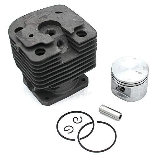 Cilindro de pistón de 42 mm Kit para Stihl FS450 FR450 FR480 Compensación FR480C Tablón Parte # 4128 020 1211