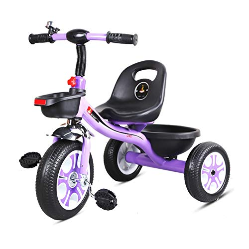 GYF Triciclo for Niños Pequeños IN 2 EN 1 Triciclo for Niños 3 Ruedas Bici De Equilibrio for Bebés Bicicleta De Entrenamiento De Triciclos Liviana for Niños Pequeños Niños Niños Niñas 12-38 Meses