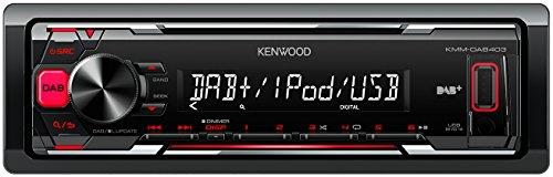 Kenwood KMM-DAB403 USB-Autoradio mit DAB+, schwarz
