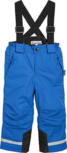 Playshoes Jungen Gefütterte Kinder, Skihose, Snowboardhose Schneehose, Blau (Marine), (Herstellergröße: 128)