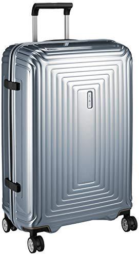 [サムソナイト] スーツケース アスペロ スピナー 69/25 保証付 74L 69 cm 3kg メタリックシルバー