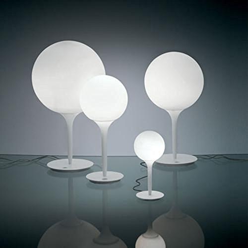 Artemide Castor G9weiß Tischleuchte–Lampen Tisch, Farbe: weiß, Glas, Polyurethane, IP20, G9, 1bulb (S), Halogen, LED)