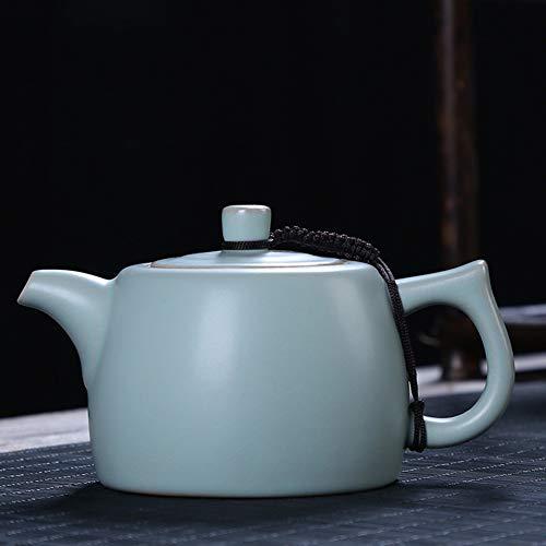 Cafetière Théières Ru Kiln Teapot Par Céramique Main À Thé Pierre Scoop Pot Maison Porcelaine Teapot GAOFENG (Color : B)
