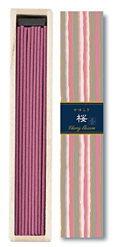 Kayuragi – Cerezo Blossom 40 varillas por Nippon KODO, incienso japonés de calidad