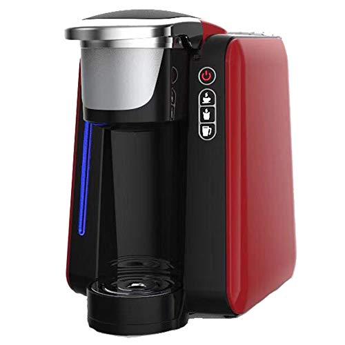 1400 Ml Volautomatische Koffiezet, Professionele Koffiemachine, Eenvoudig Schoon Te Maken, één Machine Twee Toepassingen/Kan Koffie/Thee Maken,Red