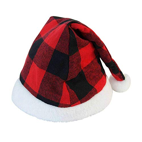 FFCVTDXIA Sombreros de Navidad, Novedad Moda 1 Pérdida de Navidad Gorra de Navidad Niños Adultos Regalo con Estilo Soft Wind Cálido Accesorios de Fiesta Newyear Decoración zhihao