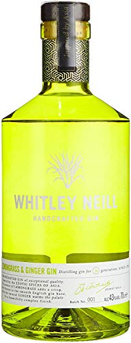 Whitley Neill Lemongrass & Ginger Gin 0,7l - 43%
