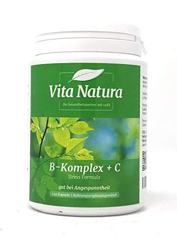 Vitamin B-Komplex plus C 120 veg. Kapseln VN