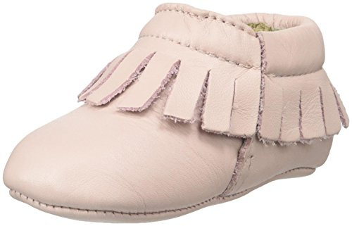 Old Soles Girls' Fringe Boot-K, Powder Pink, 18 M EU/3-6 Months