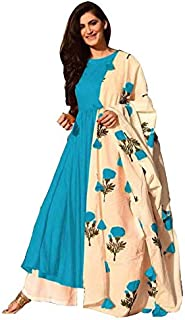 Viren Enterprise Women's Rayon Readymade Salwar Suit