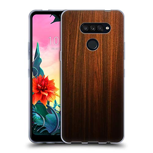 Head Case Designs Ufficiale Nicklas Gustafsson Legno Textures Cover in Morbido Gel Compatibile con LG K50S