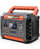Progeny 300W Portable Power Station, 299Wh/80818mAh Solar Generator with 12V Regulated DC, AC Pass-Through Charging, Wireless Charger, Backup Lithium Battery Pack for Outdoor Camping CPAP Car RV