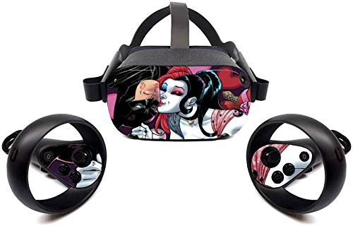 Oculus Quest VR Headset Skin sticker Cute Girl American Vinyl Decal for Headset and Controller by Tullia