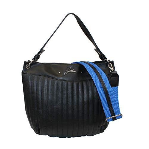 Glüxklee Damen Handtasche Black & Blue