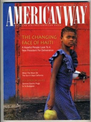 American Airlines Magazine American Way October 1991 Haiti