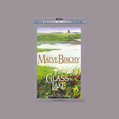 The Glass Lake audiobook cover art