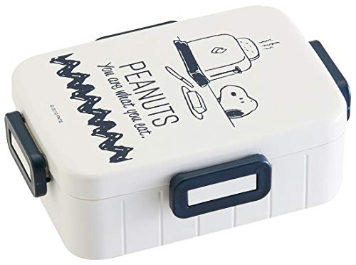 スケーター 4点ロック ランチボックス 650ml 弁当箱 スヌーピー ライフスタイル ピーナッツ 日本製 YZFL7