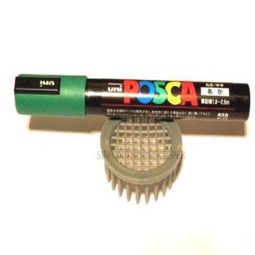 Queen artisanale Récoltée Gris marqueur Cage type avec marqueur Vert