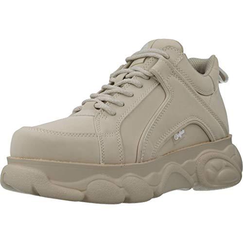 Buffalo Damen Corin Hohe Sneaker, Beige (Cream 000), 38 EU