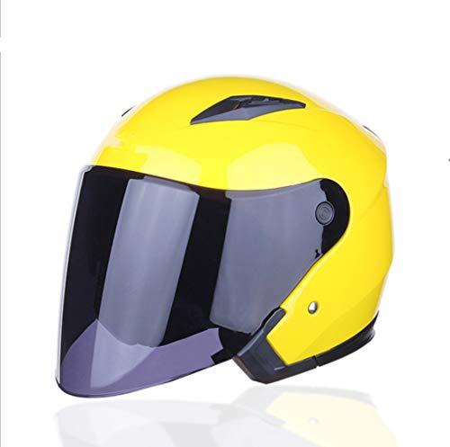 Motorhelm, volledig overdekte elektrische fiets volledige gezicht helm met anti-mist dubbele lens voor outdoor rijden, fietshelm, elektrische scooter helm