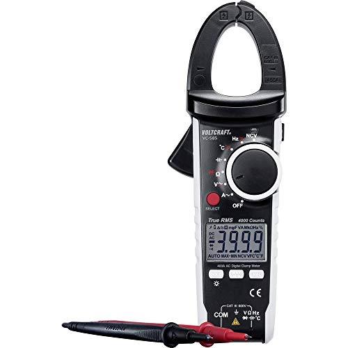 VOLTCRAFT VC585 Strömtång digital CAT III 600 V Display (Beräkningar): 4000