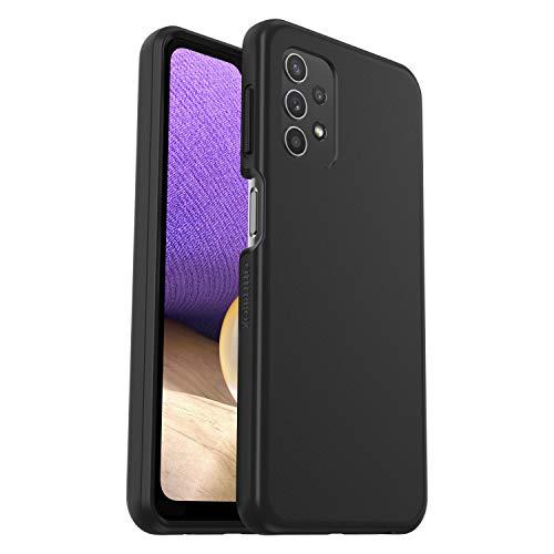 OtterBox Sleek Case, transparente, sturzsichere Schutzhülle für Samsung A32 5G, Schwarz (ohne Einzelhandelsverpackung)