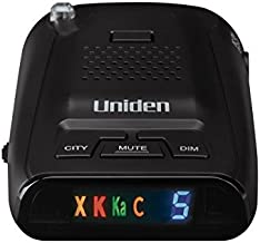 Uniden DFR3 Long Range Laser/Radar Detector with 360 Degree Protection, 3 Modes, Highway/City/City 1 Modes, Easy to Read I...