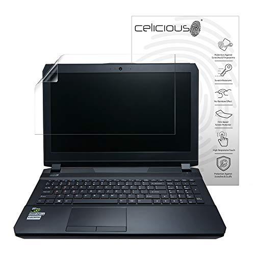 Celicious Vivid Plus Leichte, entspiegelte Bildschirmschutzfolie kompatibel mit dem Clevo P671RG [2er Pack]