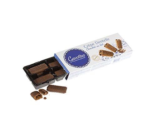 Gavottes Waffelröllchen mit Vollmilchschokolade 90g Packung