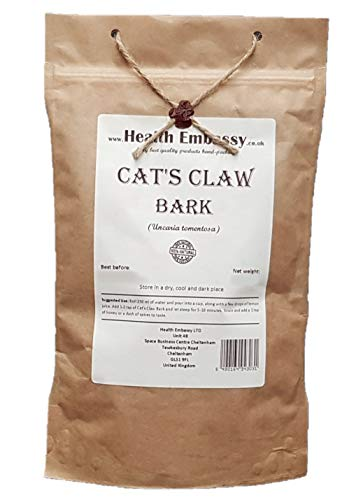 Health Embassy Katzenkralle Rinde (Uncaria tomentosa) / Cat's Claw Bark, 100g