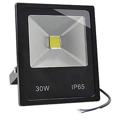 GLW 30w LED Flood Light 100-240V Outdoor Lamp 120 Degree IP65 WARM WHITE 3000K