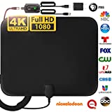 [LATEST 2020] Amplified HD Digital TV Antenna Long 120 Miles Range - Support 4K...