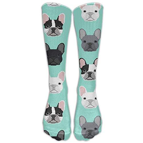 antoipyns French Bulldog Dog Puppy Dog Athletic Tube Stockings Women Men Sport Long Sock, 1, 1
