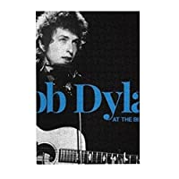 Bob Dylan ボブ・ディラン 300ピ 木製パズルジグソー、大人と子供への最高のギフト、ユニークな形のジグソーパズル 38x26 Cm